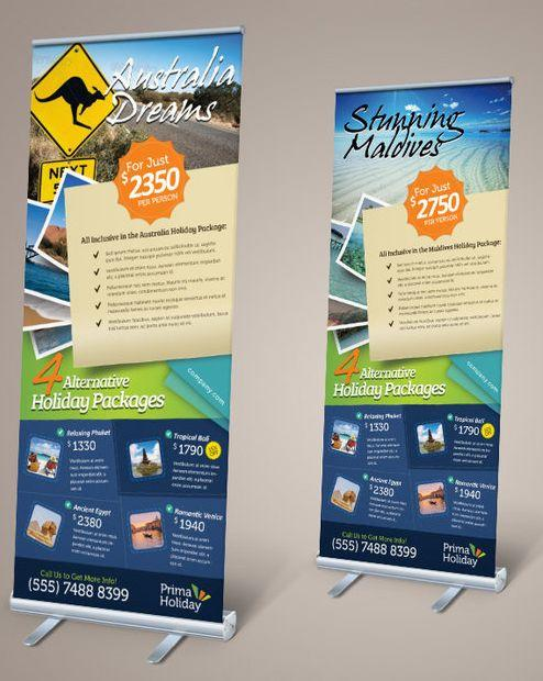 Banner Pull Up 800x2000mm - Click to enlarge