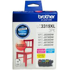 Brother OEM 3319XL 3 Pack Ink Cartridges - Click to enlarge