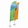 Bow Banners 3.8m Twin Pk Inc Base - Click for more info