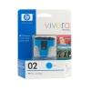 HP OEM #02 C8771WA Cyan Inkjet - Click for more info