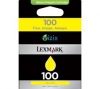 Lexmark OEM #100 14N1071A HY Yellow Inkj - Click for more info