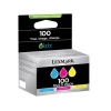 Lexmark OEM #100 C/M/Y Pack Std Yield - Click for more info