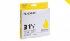 Ricoh OEM GC31 Gel Ink Yellow - Click for more info